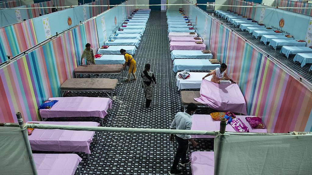 Wieder mehr als 200 000 Neuinfektionen in Indien