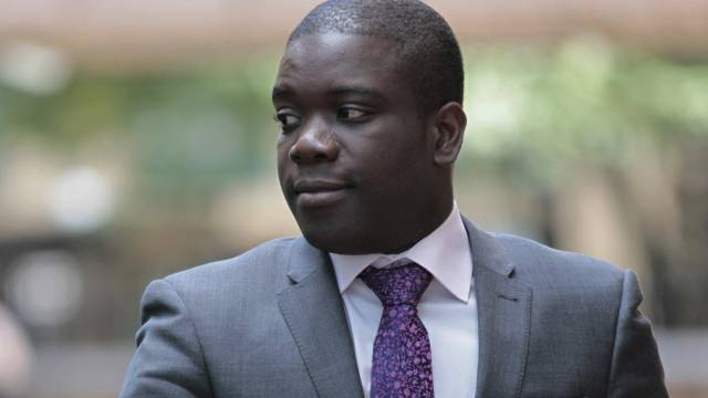Der frühere Investmentbanker Kweku Adoboli 2012 in London (Archiv)