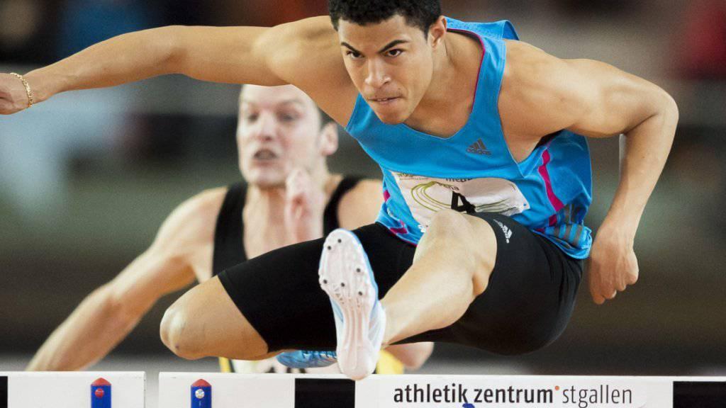 Brahian Peña konnte seine starke Leistung von den Schweizer Meisterschaften in St. Gallen an der Hallen-WM in Portland (USA) nicht bestätigen