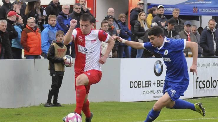 Der FC Solothurn verliert gegen Etoile Carouge 0:1.