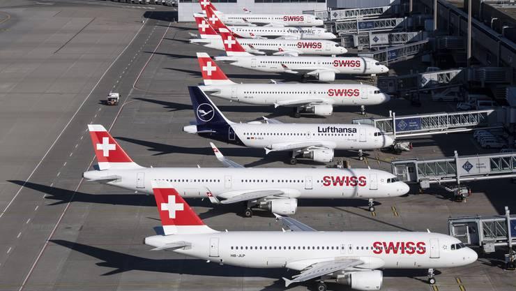 Die Flugzeuge der Swiss sollen bald wieder öfter abheben.