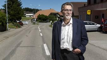 Rolf Späti in Heinrichswil. Hier ist er geboren, aufgewachsen, verwurzelt. «Ich bin einer, den man kennt.»