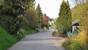 Im Bereich Bächliweg/Steinenbergstrasse soll die Kanalisation saniert werden. (Bild: TE)