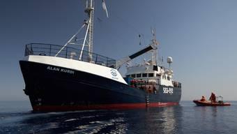 ARCHIV - Das Seenotrettungsschiff «Alan Kurdi». Foto: Fabian Heinz/Sea-Eye/dpa - ACHTUNG: Nur zur redaktionellen Verwendung und nur mit vollständiger Nennung des vorstehenden Credits