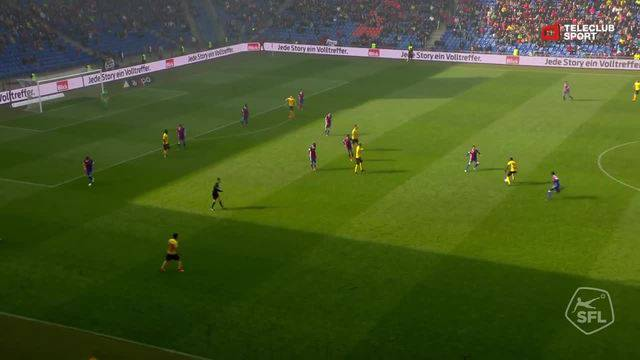 Super League, 2017/18, 34. Runde, FC Basel - BSC Young Boys, 5:1 Christian Fassnacht