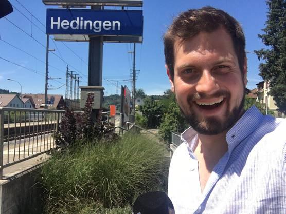 Dominik Widmer besucht Hedingen im Säuliamt.