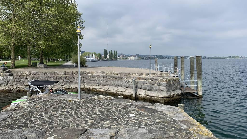 Der Pegel des Bodensees wird in den nächsten Tagen ansteigen.