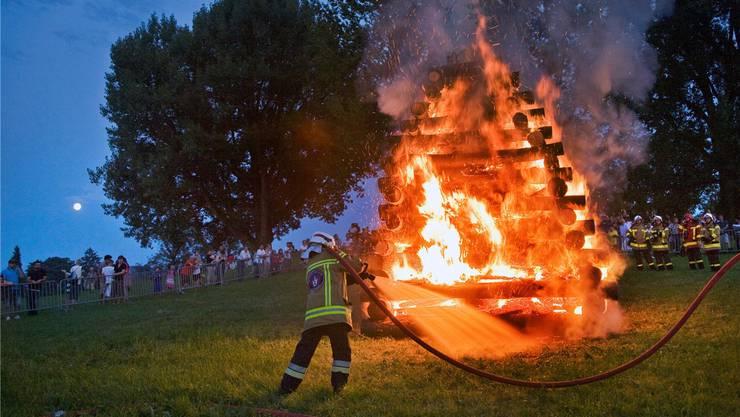 Bad Zurzach verzichtet auf das 1.-August-Feuer (Symbolbild).