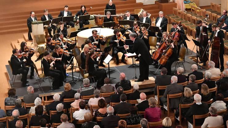 Das Classionata Symphonie Orchester unter der Stabführung von Andreas Spörri im Einsatz.