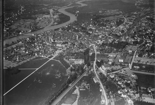 Luftaufnahme 1919