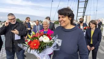 Die Basler Regierungspräsidentin Elisabeth Ackermann.