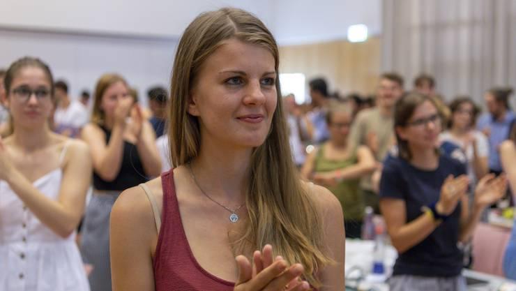 «Meine Vision hat überzeugt»: Ronja Jansen gibt sich kämpferisch.