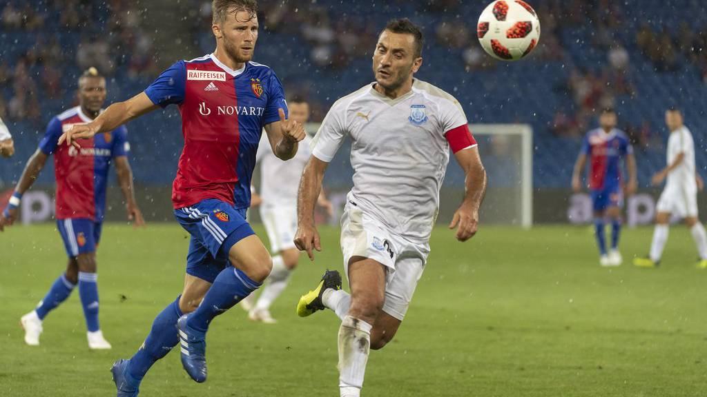 Bereits am 23. August spielte Basel gegen Apollon.