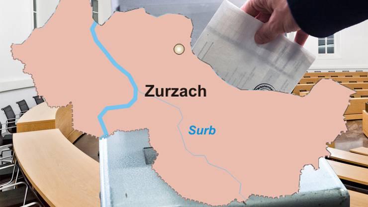 Wahl- und Abstimmungsresultat im Bezirk Zurzach