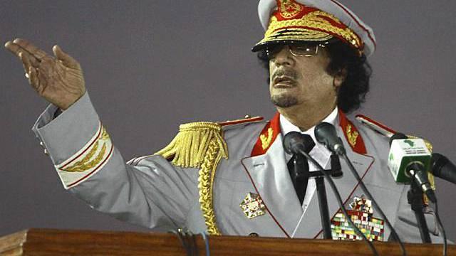 Muammar Gaddafi will Schadensgeld von der Schweiz (Archiv)