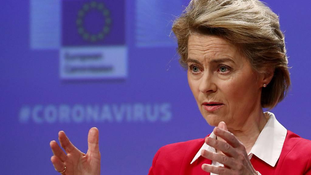 Von der Leyen droht Ungarn mit Vertragsverletzungsverfahren