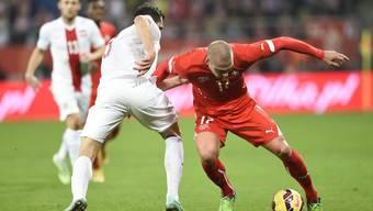 Die Schweizer Nati im Test gegen Polen