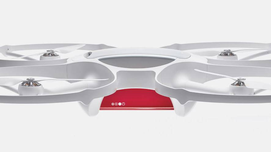 Die Post testet mit Drohnen
