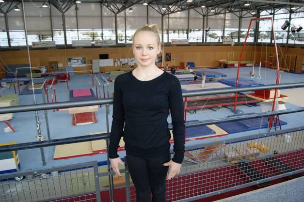 Anja Schwarz in Magglingen.