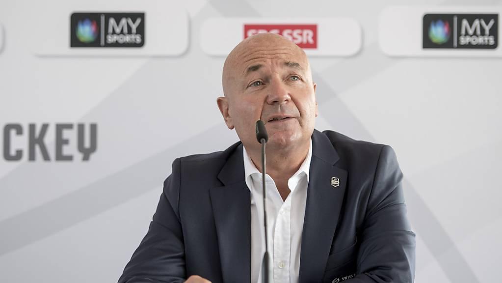 """Liga-Direktor Denis Vaucher spricht sich """"entschieden"""" gegen eine generelle europäische Einführung der Eisflächen im kleineren NHL-Format aus"""
