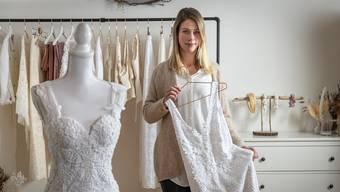 Nadine Willi in ihrem Atelier.