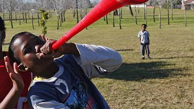 Die afrikanischen Vuvuzelas sind momentan allgegenwärtig (Symbolbild)