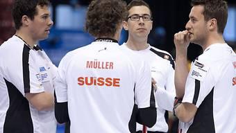 Bamert, Müller, Ramstein, Hauser: Beratung im Schweizer Team
