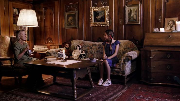 Film-Still aus dem Kurzfilm «Porcelain Stare» von Aurel Ganz (Kamera) und Robin Ripmann (Regie).