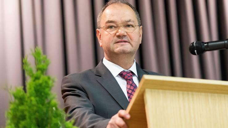 Yves Ravenel (SVP), Parlamentspräsident des Kantons Waadt, hatte vergangenen Herbst auch für die Nationalrat kandidiert.