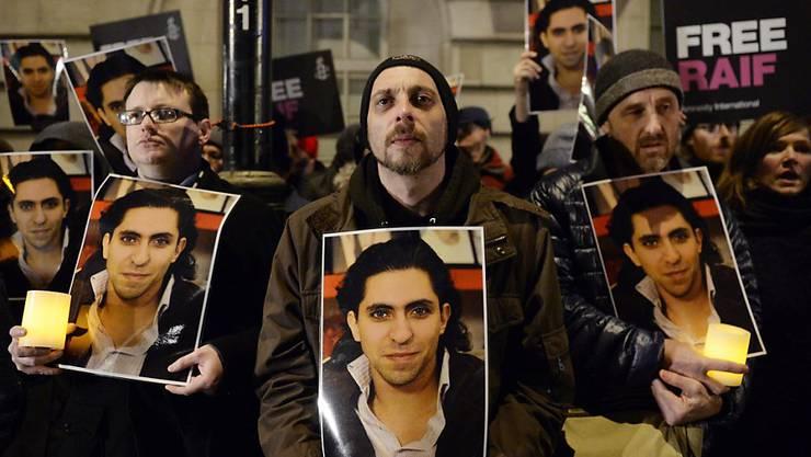 Raif Badawi gehört zu den bekanntesten politischen Häftlingen in Saudi-Arabien.(Archivbild)