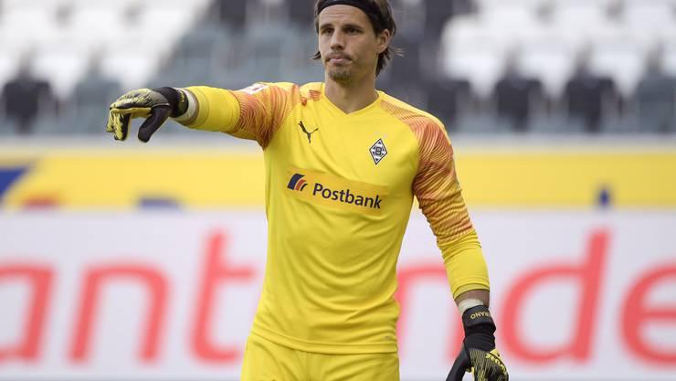 Yann Sommer: In Mönchengladbach einmal mehr mit herausragenden Leistungen. Als bester Torhüter der Bundesliga gewählt. Vielleicht so gut wie noch nie. Note 6