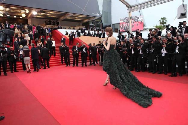 Julia Saner in Cannes