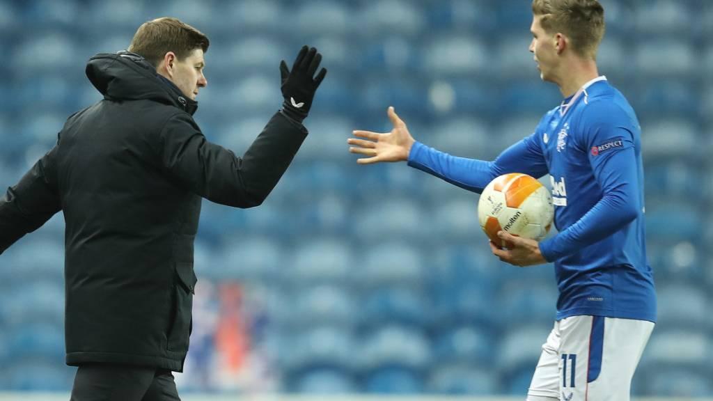 Cédric Itten trifft für die Glasgow Rangers