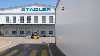 Stadler Rail macht sich breit.