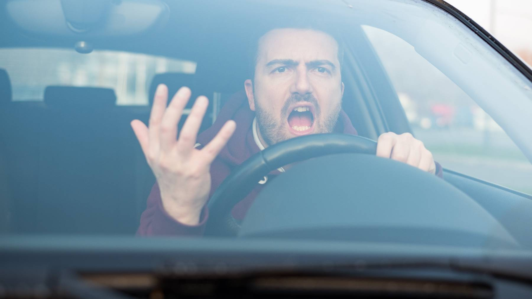Über 80 Prozent der Autofahrer wurden bereits auf der Strasse provoziert.