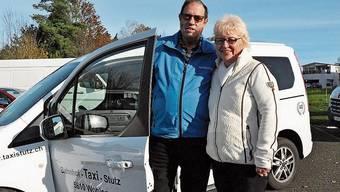 Kurt und Silvia Stutz, Wohler Taxiunternehmer.