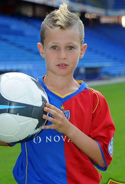 Robin Hänggi als Neunjähriger