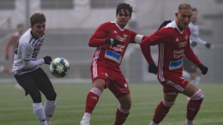 Yves Weilenmann (Mitte) zeigte eine starke Leistung.