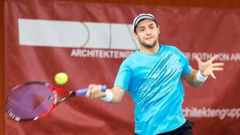 Der Weissrusse Uladimir Ignatik ist aktuell die Nummer 135 der Weltrangliste und in der NLA-Saison der Topspieler der Trimbacher.