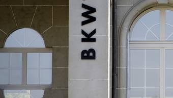 Das Logo der BKW in Bern (Archiv)
