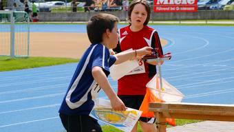 Im Aargauer Nachwuchs läuft alles nach Plan: Junge Athleten messen sich am grössten Schulsportanlass des Kantons. Yanick Baur