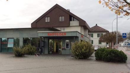 Eien der Banken im Verbund: Die Raiffeisenbank Recherswil (Archiv)