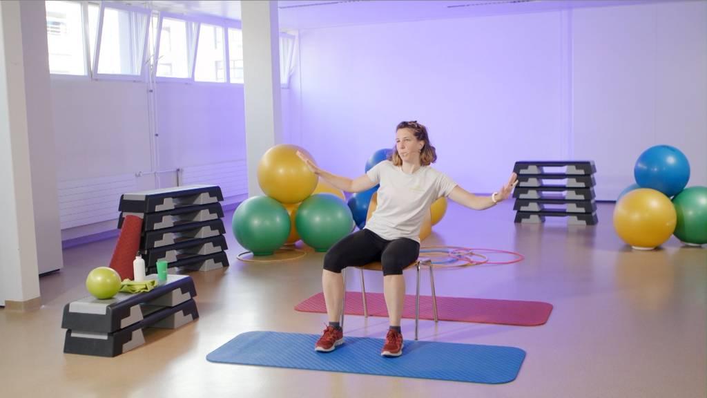 «Gymnastik in Wohnzimmer» vom 20. September 2021