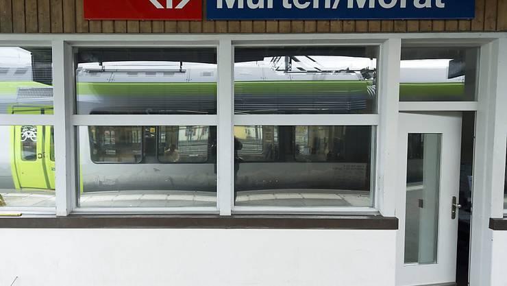 Der Bahnhof Murten wurde am Samstagabend für über eine Stunde evakuiert.