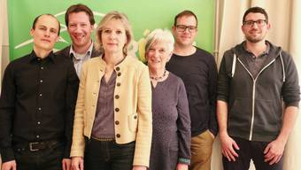 Von links: Simon Knellwolf, Fabien Choffat, Brigit Wyss, Veronika Fluri, Remo Meister und Lauro Frei.