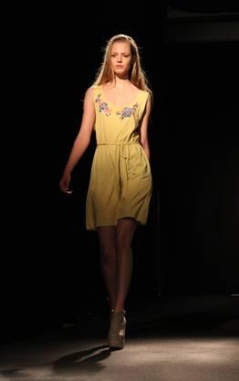 Und dann doch: Frühlingsgefühle mit einem gelben Kleid