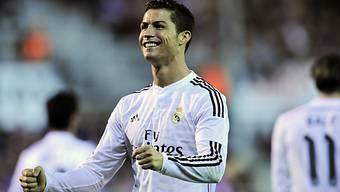 Reals Cristiano Ronaldo traf gegen Eibar zweimal in die Maschen