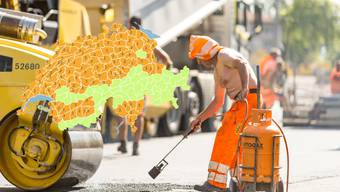 Nächste Woche erwartet uns eine Hitzewelle – besonders Bauarbeiter und ältere Personen dürften darunter leiden.