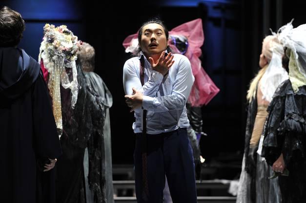 Eung Kwang Lee und der Chor