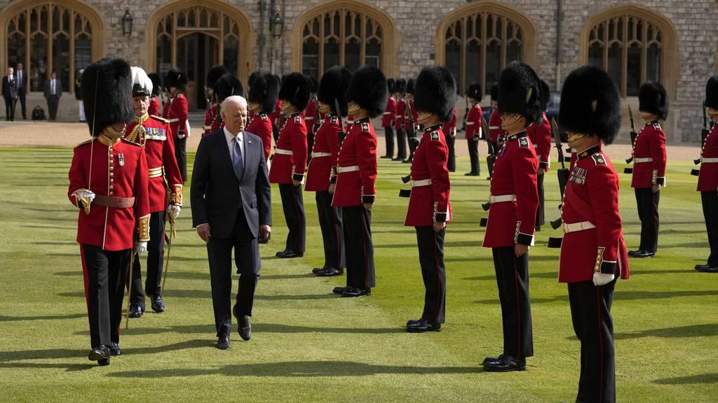 Queen empfängt US-Präsident Biden und First Lady in Windsor
